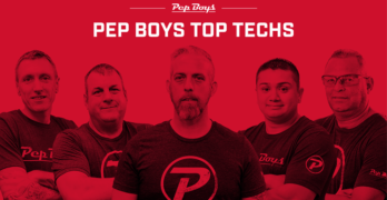 Pep Boys Announces 'Top Techs'